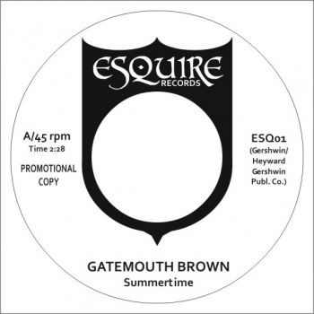 Gatemouth Brown - Summertime/Toussaint McCall - Summertime