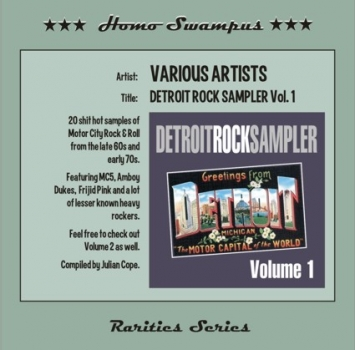 Detroit Rock Sampler - Vol. 1