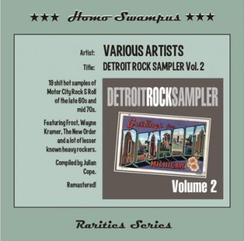 Detroit Rock Sampler - Vol. 2