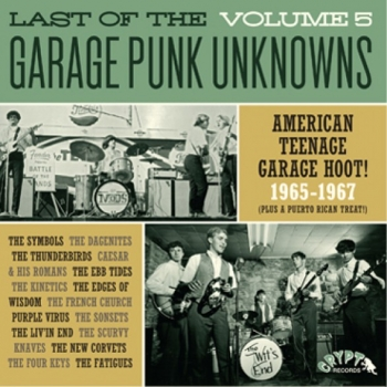The Last Of The Garage Punk Unknowns - Volume 5